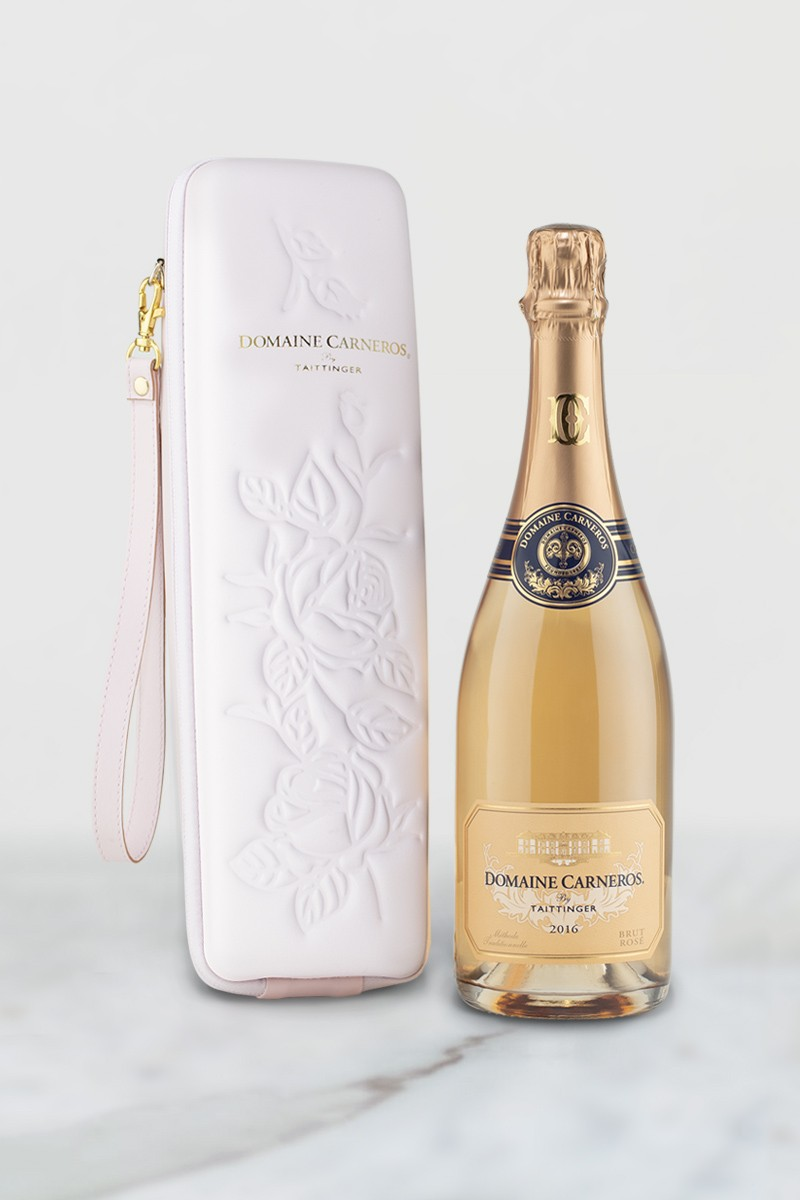 Brut Rosé with Rose Tote