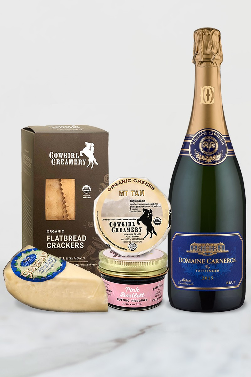 Sparkling Wine Cheese Pairing